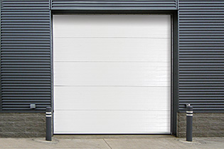 Insulated Sectional Steel-Back Doors